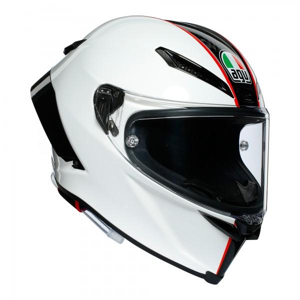 AGV Pista GP-RR Scuderia Carbon / White / Red