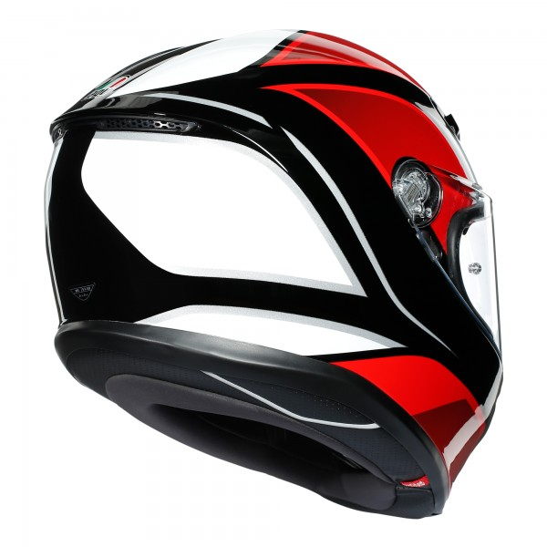 AGV K6 Hyphen Black / Red / White