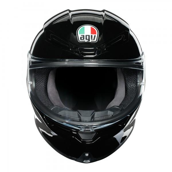 AGV K6 Solid Black