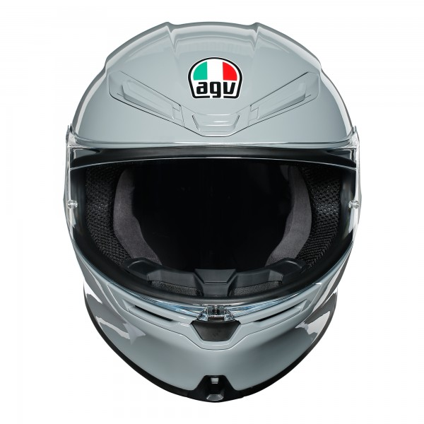 AGV K6 Solid Nardo Grey Helmet