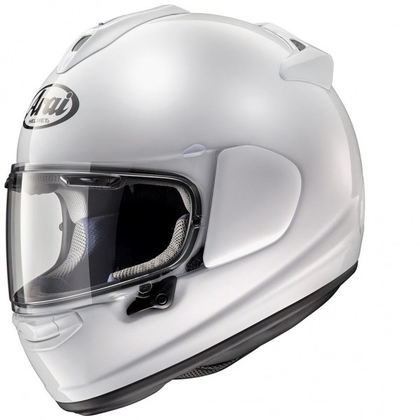 Arai Chaser X Solid Solid White