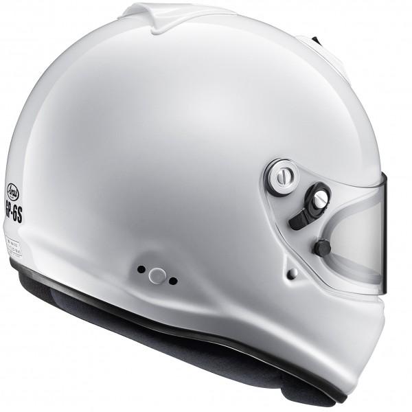 Arai GP-6S (W/M6 Studs) White