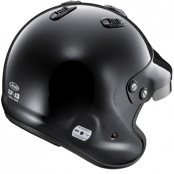 Arai GP-J3 (W/M6 Studs) Black