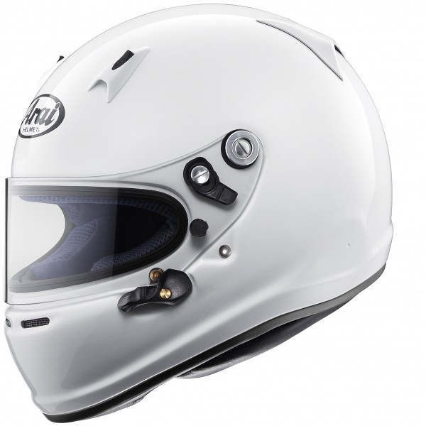 Arai SK-6 (Without Anchors) White