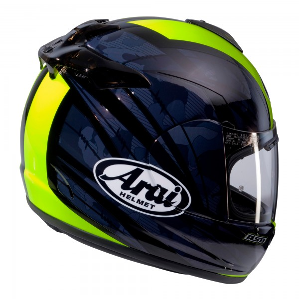 Arai Debut Blast Flo Yellow