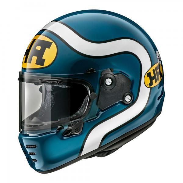 Arai Rapide Ha Blue Helmet