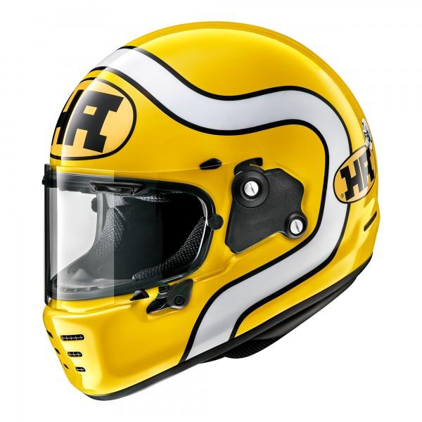 Arai Rapide Ha Yellow Helmet