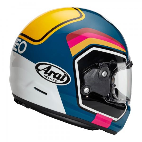 Arai Rapide Number Blue Helmet