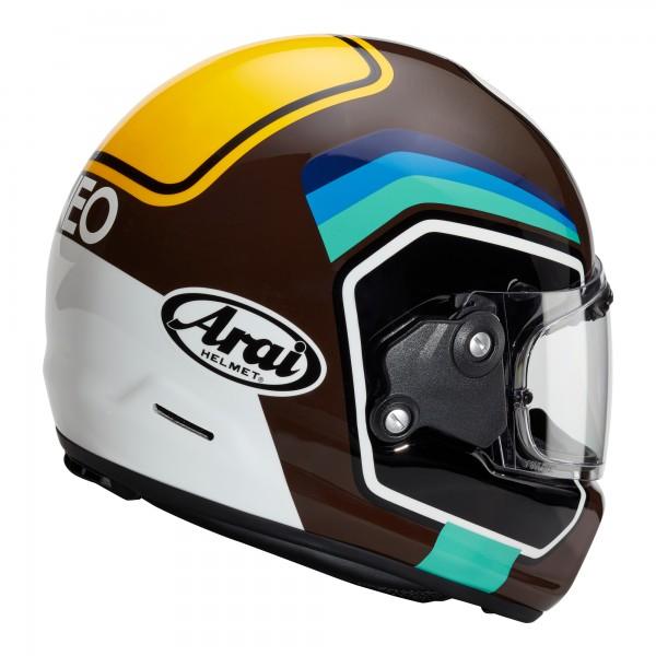 Arai Rapide Number Brown Helmet