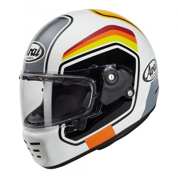 Arai Rapide Number White Helmet