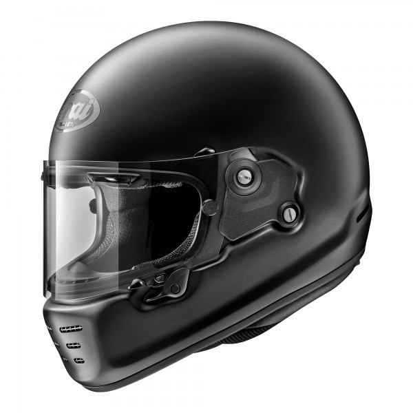 Arai Rapide Solid Frost Black Helmet