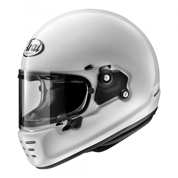 Arai Rapide Solid White Helmet