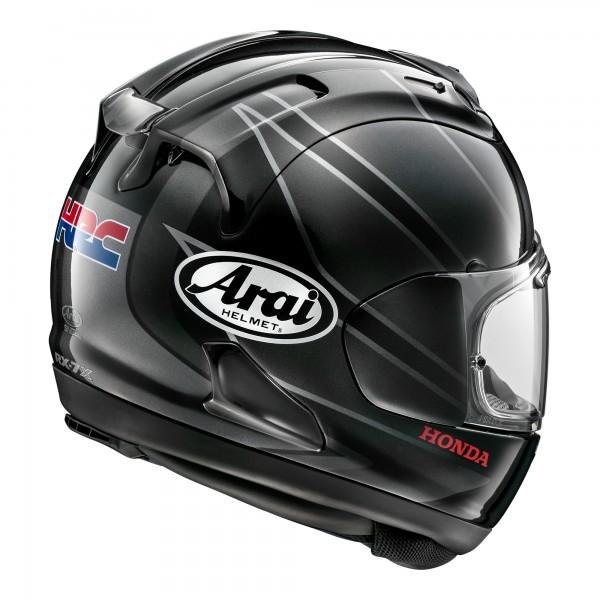 Arai RX-7V Honda CBR Black / Silver