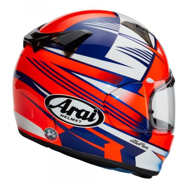 Arai Profile V Rock Blue / Red