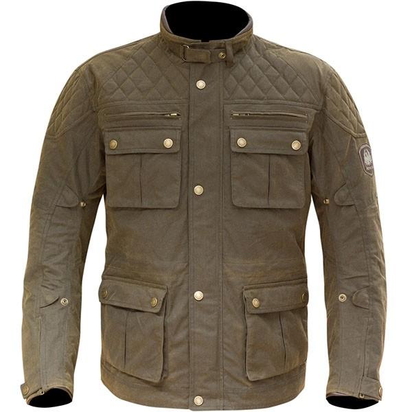 Merlin Yoxall Wax Textile Jacket - Brown