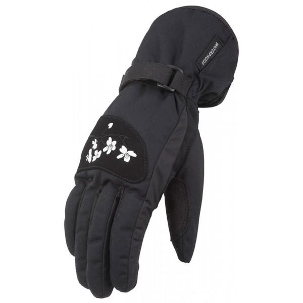 Furygan Flower Lady Gloves Black