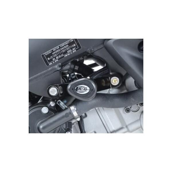 R&G AERO CRASH PROTECTORS -BLACK-CP0369BL  FIT SUZUKI DL1000 V-STROM '14- & DL1000XT '17-