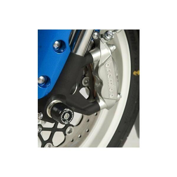 R&G Suzuki GSX-R600 (2012 L2) Black Fork Protectors FP0101BK