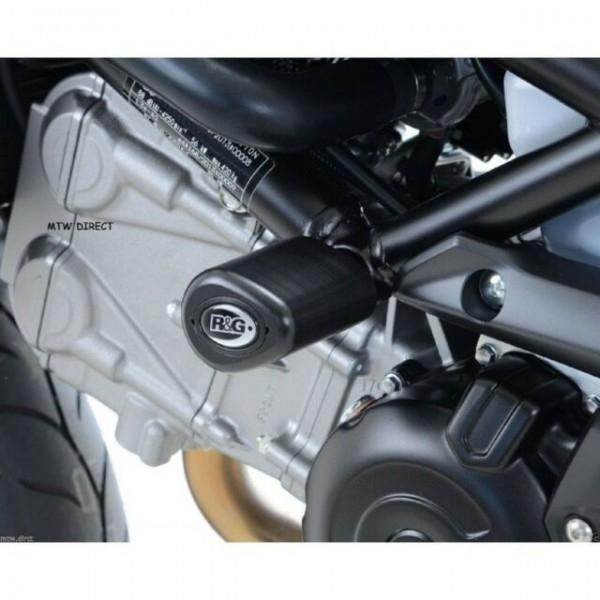 R&G Suzuki Gladius SV650/SFV650  Aero Crash Protectors CP0255BL BLACK