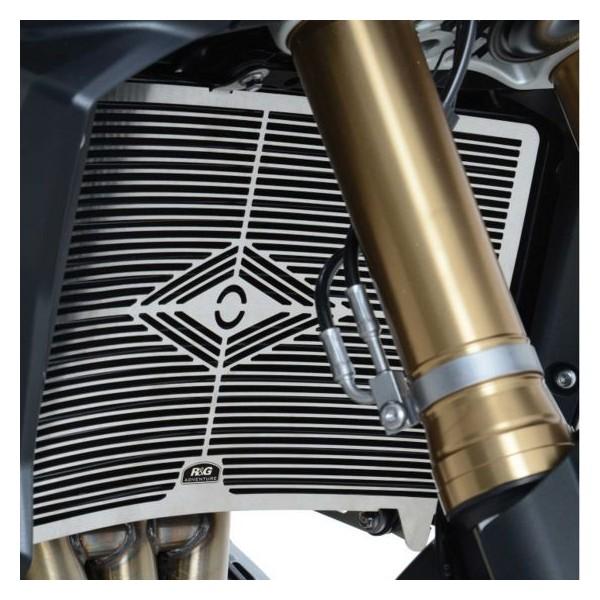 R&G Racing - SRG0030SS - Stainless Steel Radiator Guard SUZUKI DL100 V-STROM  ' 14-
