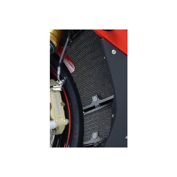 R&G Radiator & Oil Cooler Guard Set BLACK - Hayabusa '08- / B-King RAD9014BK