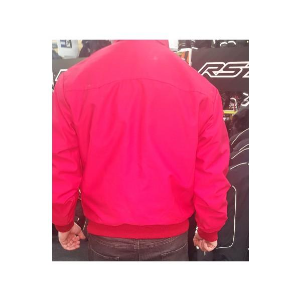 Royal Alloy Harrington Jacket Red