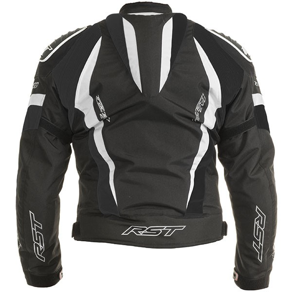 RST Tractech Evo 2 Textile Jacket Black White