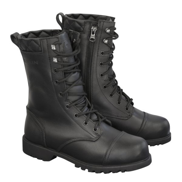 Merlin Ladies G24 Combat Waterproof Boots Black