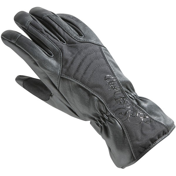 Ixon Ladies RS Drop Leather Glove Black