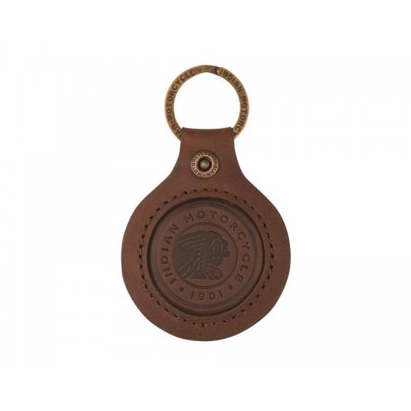 Indian Icon Leather Keyring