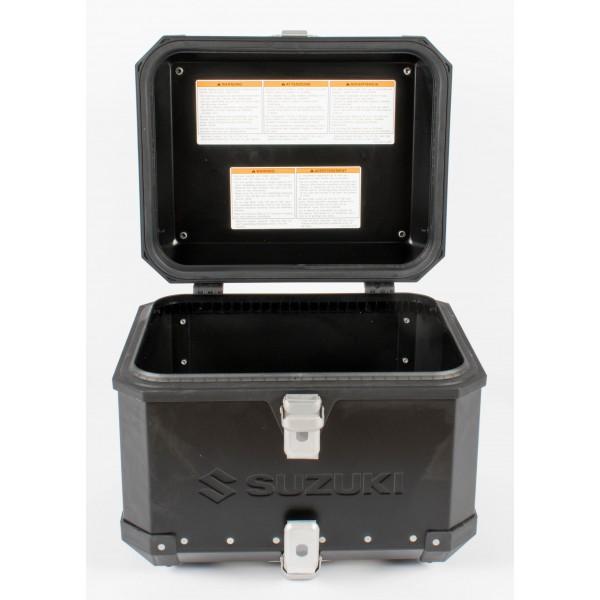 Genuine Suzuki Aluminium Top Case For V-Strom - Black