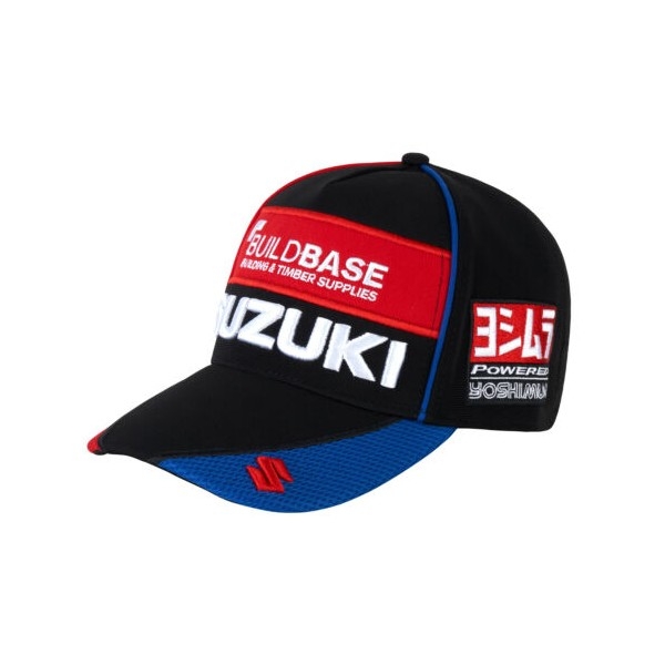 BUILDBASE SUZUKI BSB RACE TEAM CAP - 2020 APPAREL