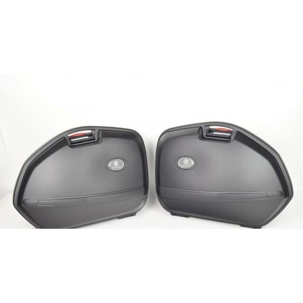 Genuine Suzuki K33 Side Case Set For Bandit Models