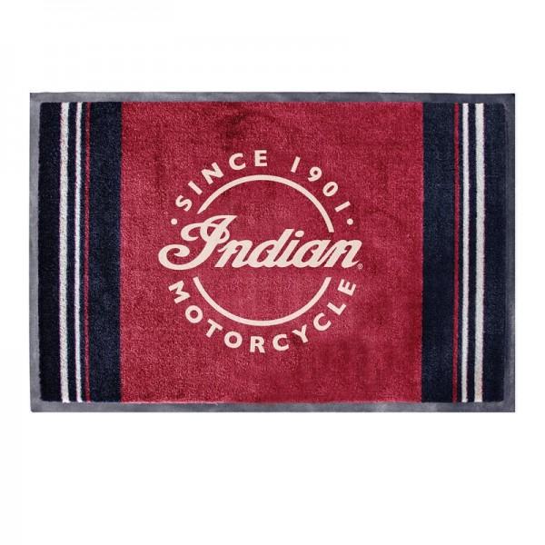 Indian Icon Logo Door Mat