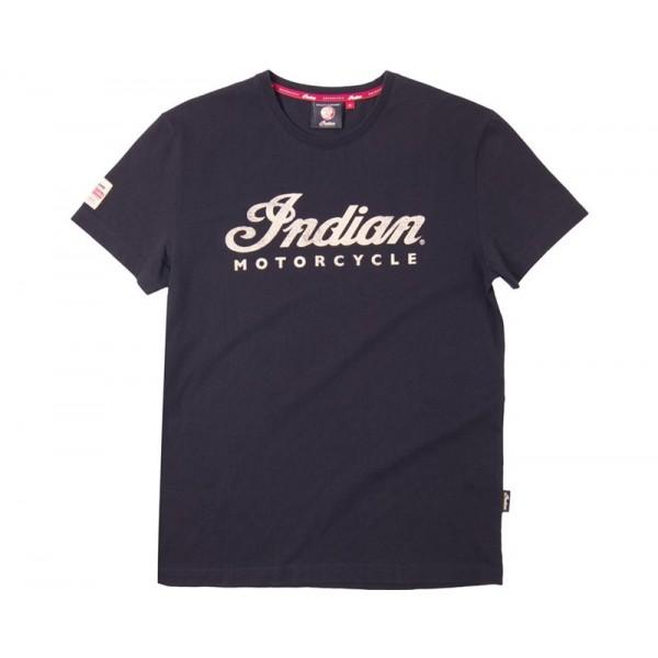 Indian Script Logo T-Shirt - Black