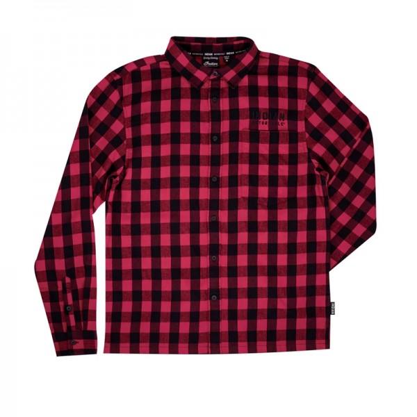 Indian Men's Buffalo Plaid Shirt - Red/Black