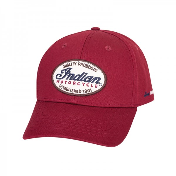 Indian IMC Patch Hat - Red