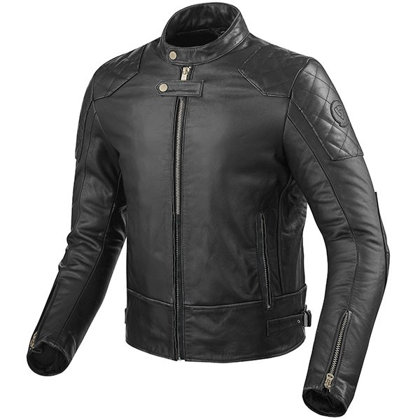 Rev'it Lane Leather Jacket - Black