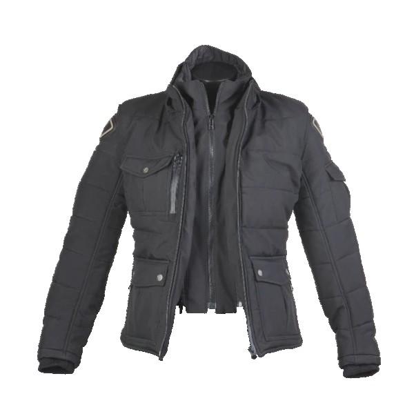 ByCity Ladies Urban III Soft Shell Textile Jacket - Black