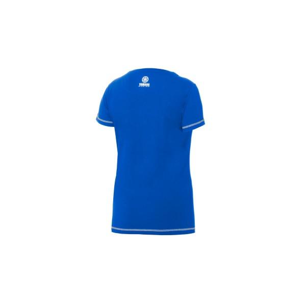 Yamaha Paddock Blue Women's T-shirt Blue