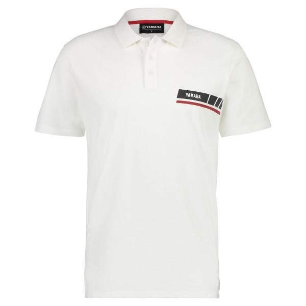 Yamaha REVS Men's Polo Shirt White