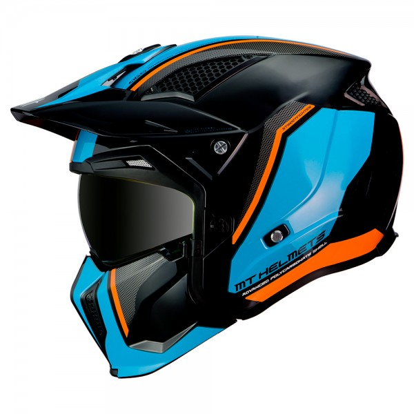 MT Streetfighter SV Twin Blue/Fluo Orange