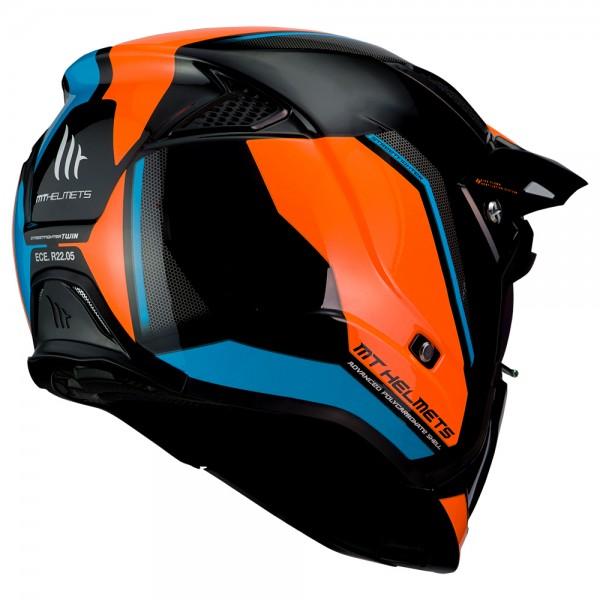 MT Streetfighter SV Twin Blue/Fluo Orange