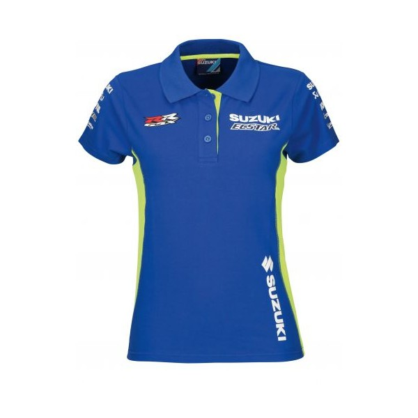 Suzuki MotoGP Team Polo Shirt Ladies 2018