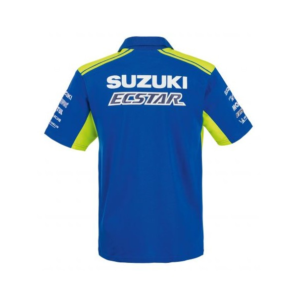 Suzuki MotoGP 2019 Team Mens Polo Shirt