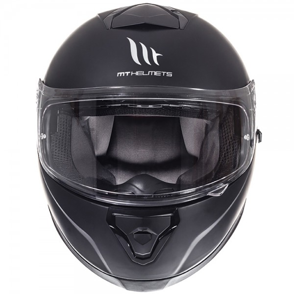 MT THUNDER 3 SV MATT BLACK FULL FACE HELMET BEST SELLER