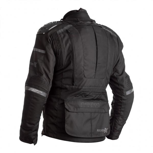 RST Pro Series Adventure-X Airbag CE Textile Jacket Black/Black