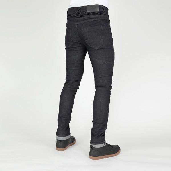 Bull-It Mens Tactical (AA) Bobber Black Skinny Short Leg Jeans