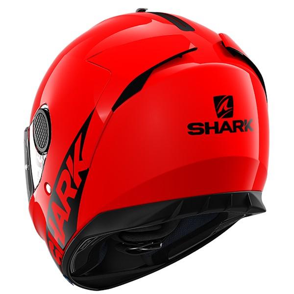 Shark Spartan Blank RED