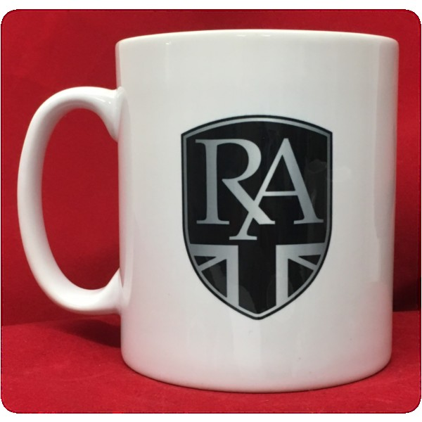 Royal Alloy White Ceramic Mug